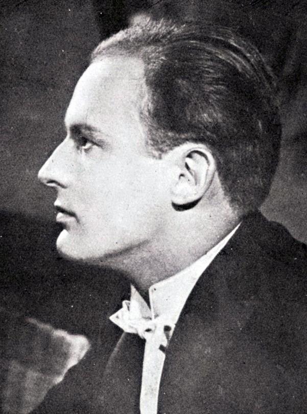 Benno Smytt en 1931