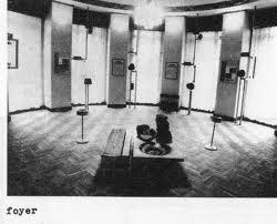 03- Petit foyer au dessus de la rotonde d'acces vers 1930