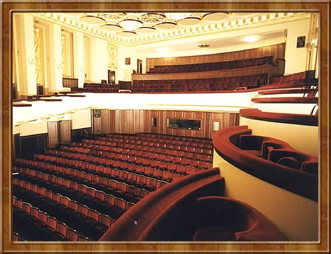 La grande salle restaurée à l'identique en 1999