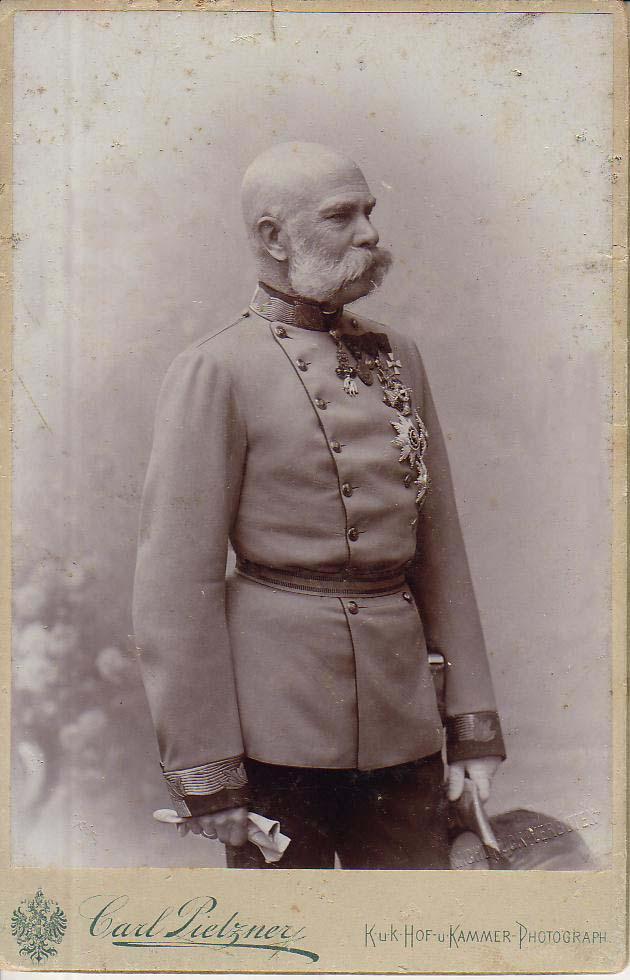 L'empereur François-Joseph en 1890