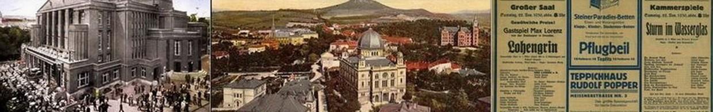 Le théâtre de Teplitz (Teplice)